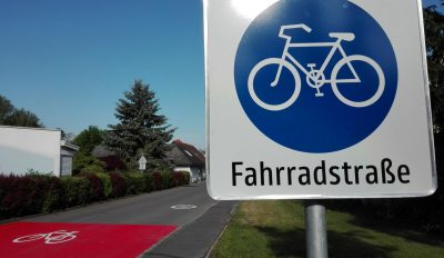 Die erste Fahrradstraße der Steiermark