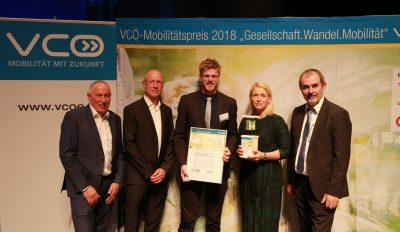VCÖ-Mobilitätspreis 2018 – Hauptpreis Jürgen Sorger
