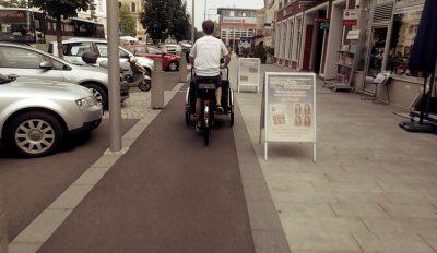Radverkehr belebt Ortskerne