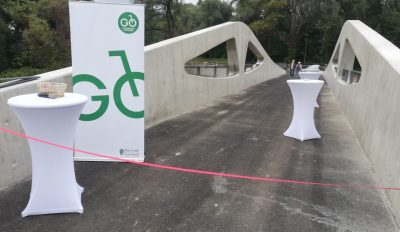 Die Brücke zum Radverkehr