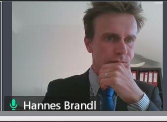 Riesenschritt mit Mikro-ÖV – Dr. Hannes Brandl – wir gratulieren!