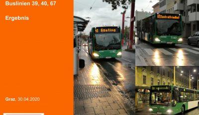 Offensive für die Pünktlichkeit im ÖV im Grazer Busliniennetz