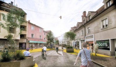 Begegnungslinsen für den Grazer Lendplatz